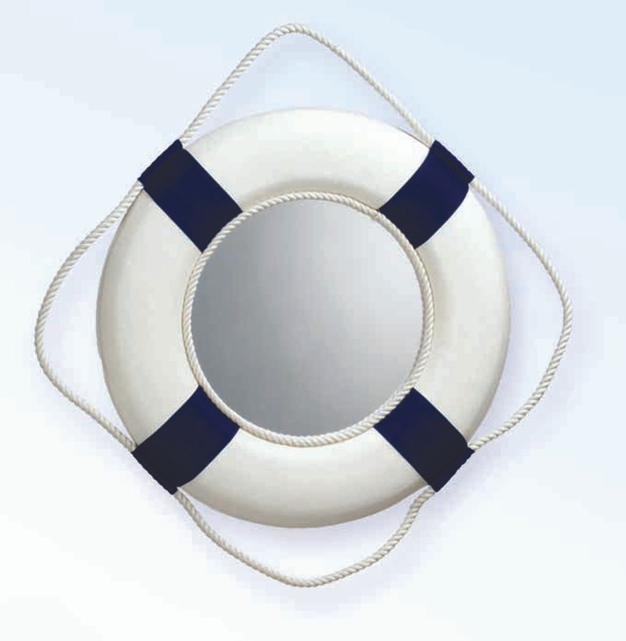 Life Ring Mirror - Blue