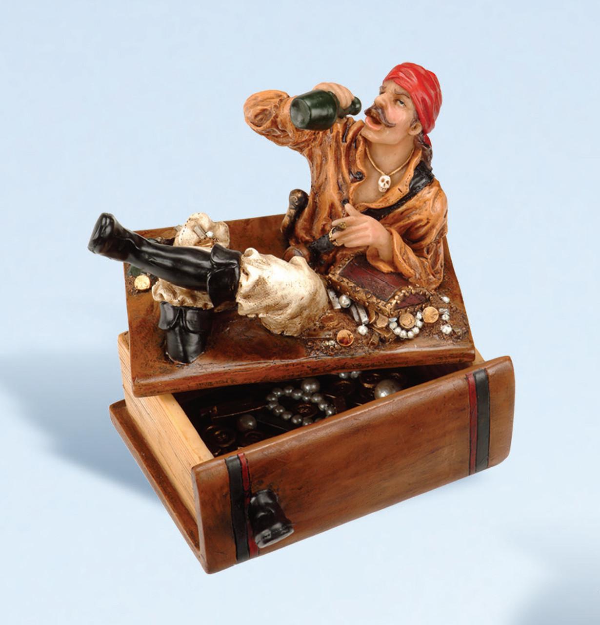 Card Deck Holder - Pirate