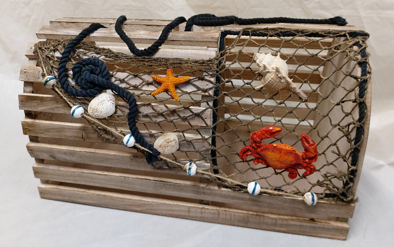 Decorative Lobster Trap