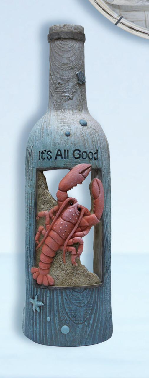 Lobster Decor Bottle Holder