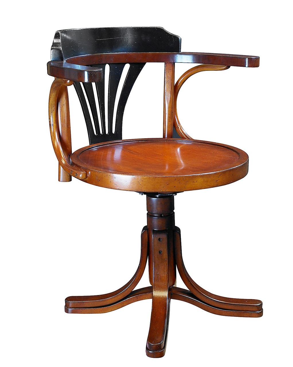 Purser's Desk Chair, Black