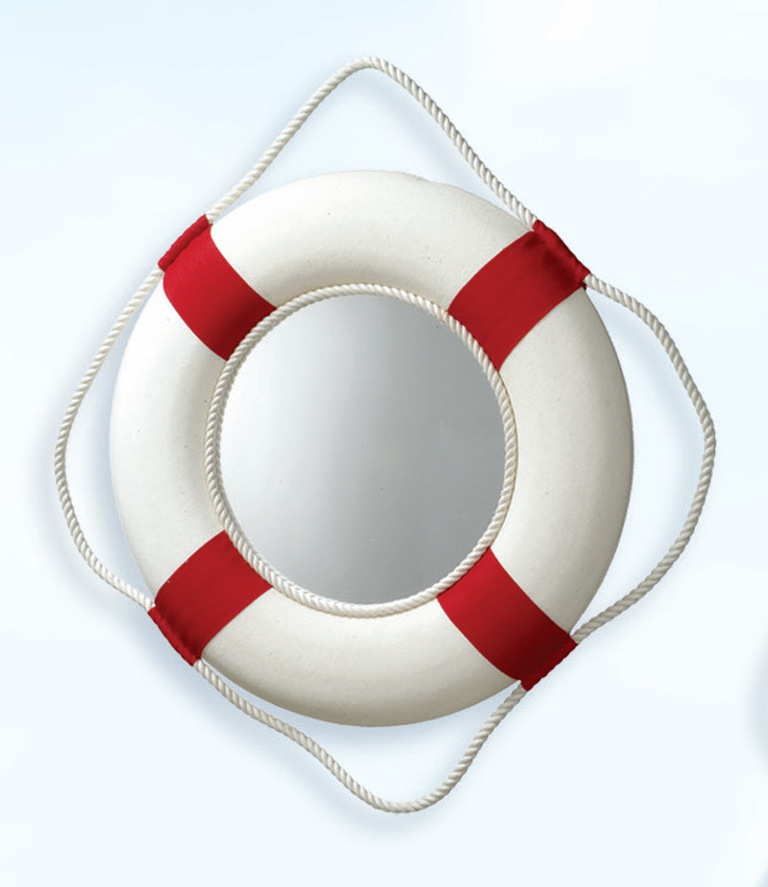 Life Ring Mirror - Red
