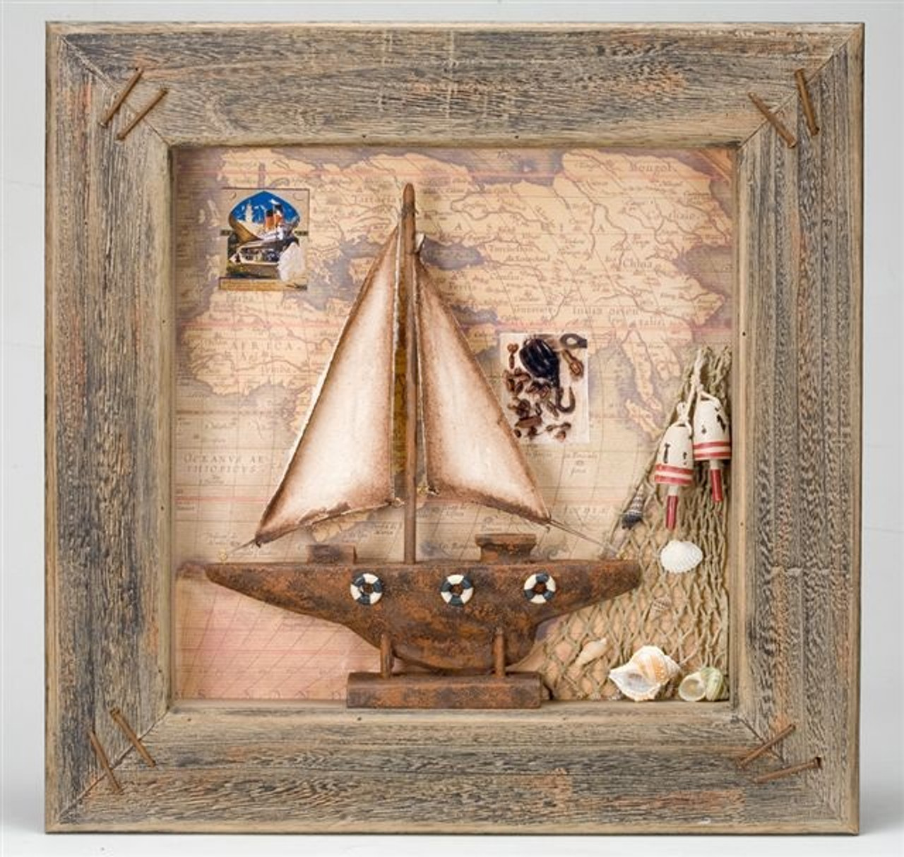 Sailboat in Picture Frame