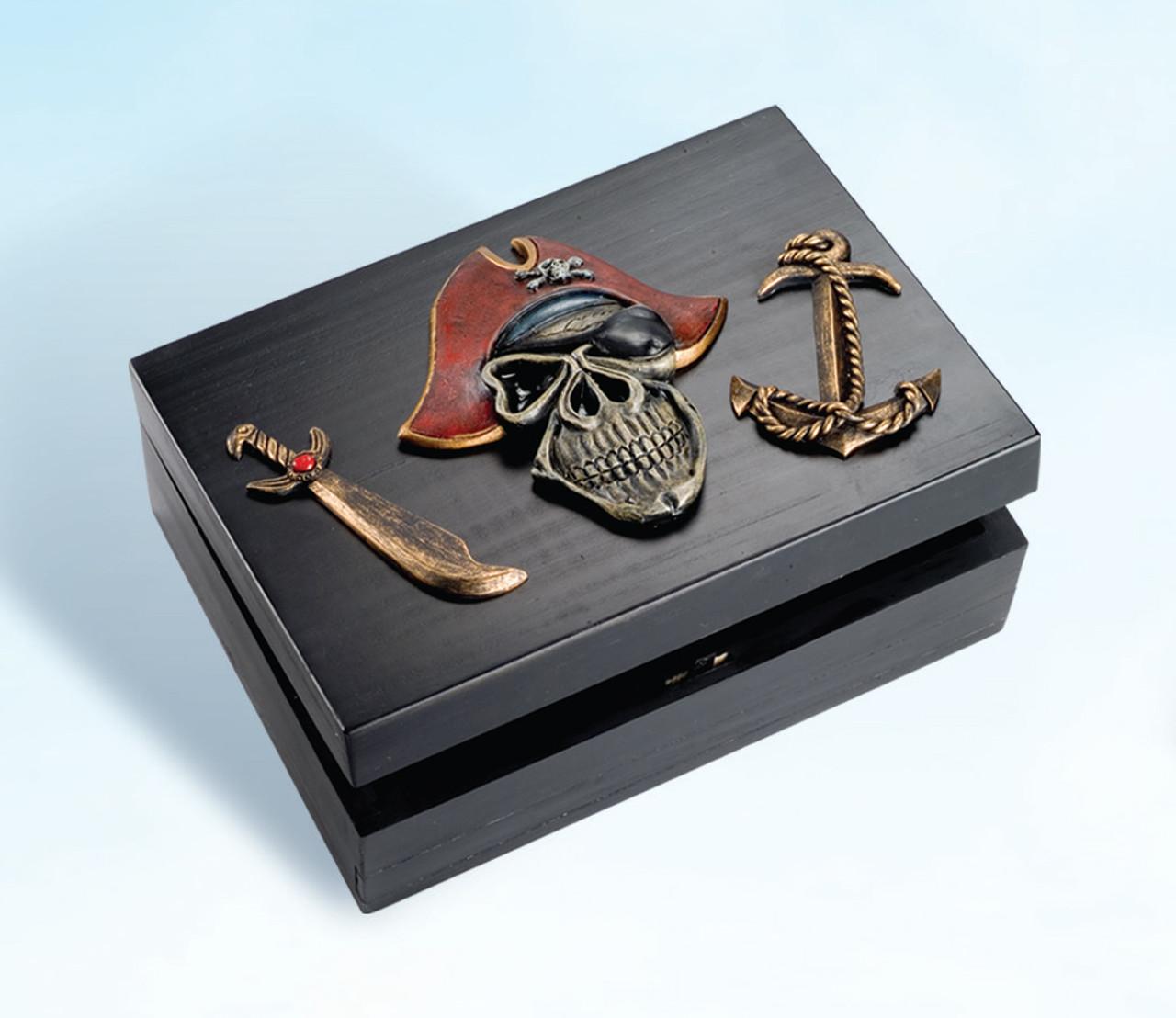 Decorative Pirate Treasure Box