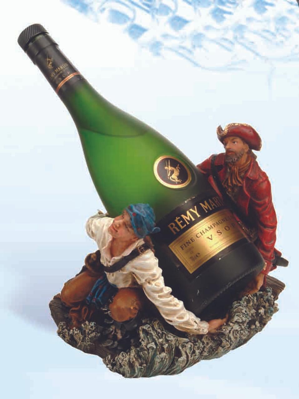 "(BH-56) 7"" Kneeling Pirates Bottle Holder"