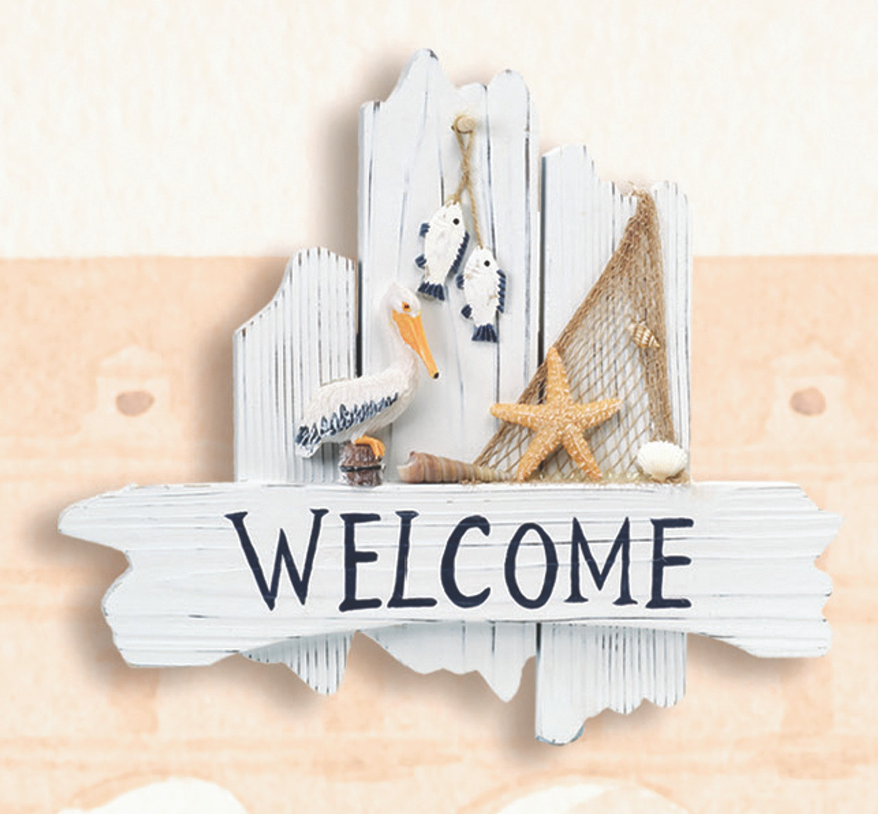 Pelican Beach House Welcome Sign