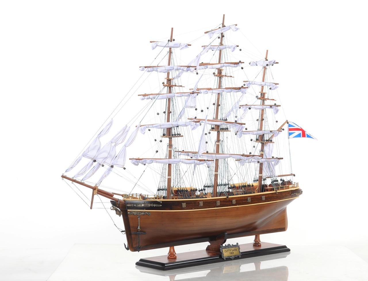 """Cutty Sark Model Ship -27.5"""""""