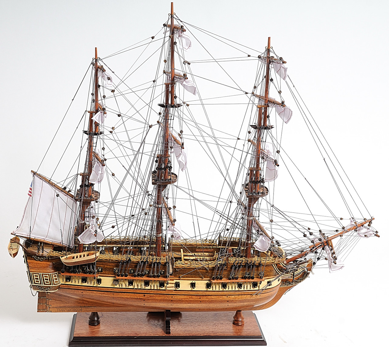 "USS Constitution Model Ship - 25"" - Optional Personalized Plaque"