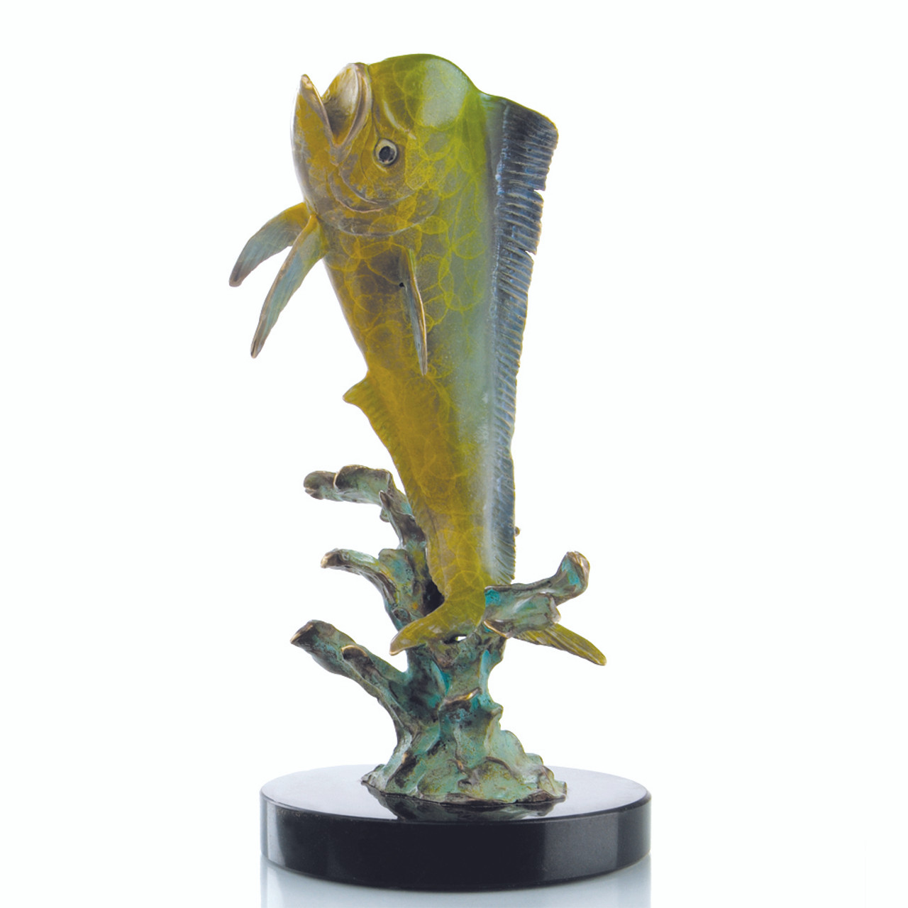 Little Bully Trophy Fish Decor (Mahi Mahi) Sculpture