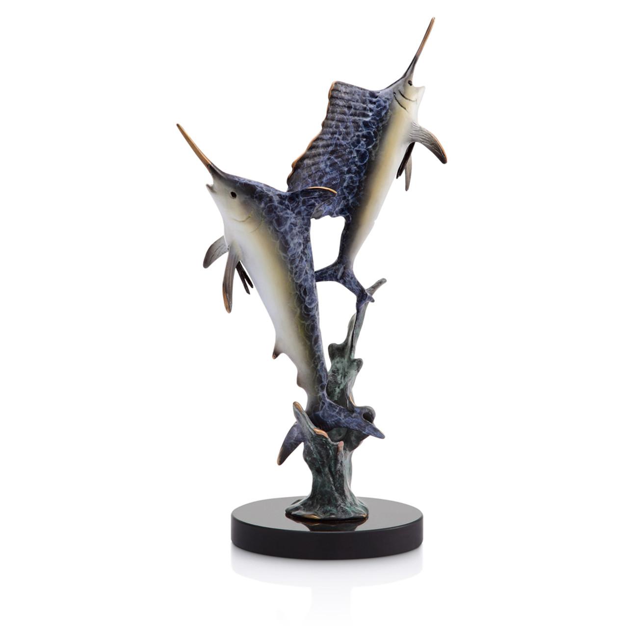 Islamorada Two Step - Marlin & Sailfish Sculpture