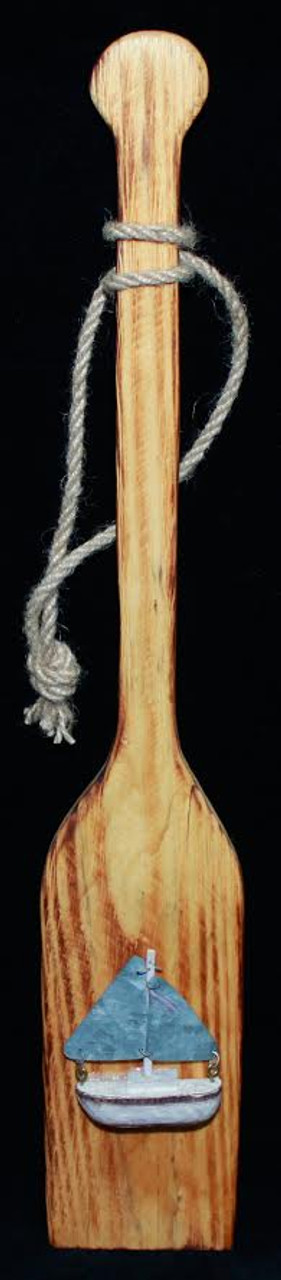 Decorative Wooden Paddle- 17.5""