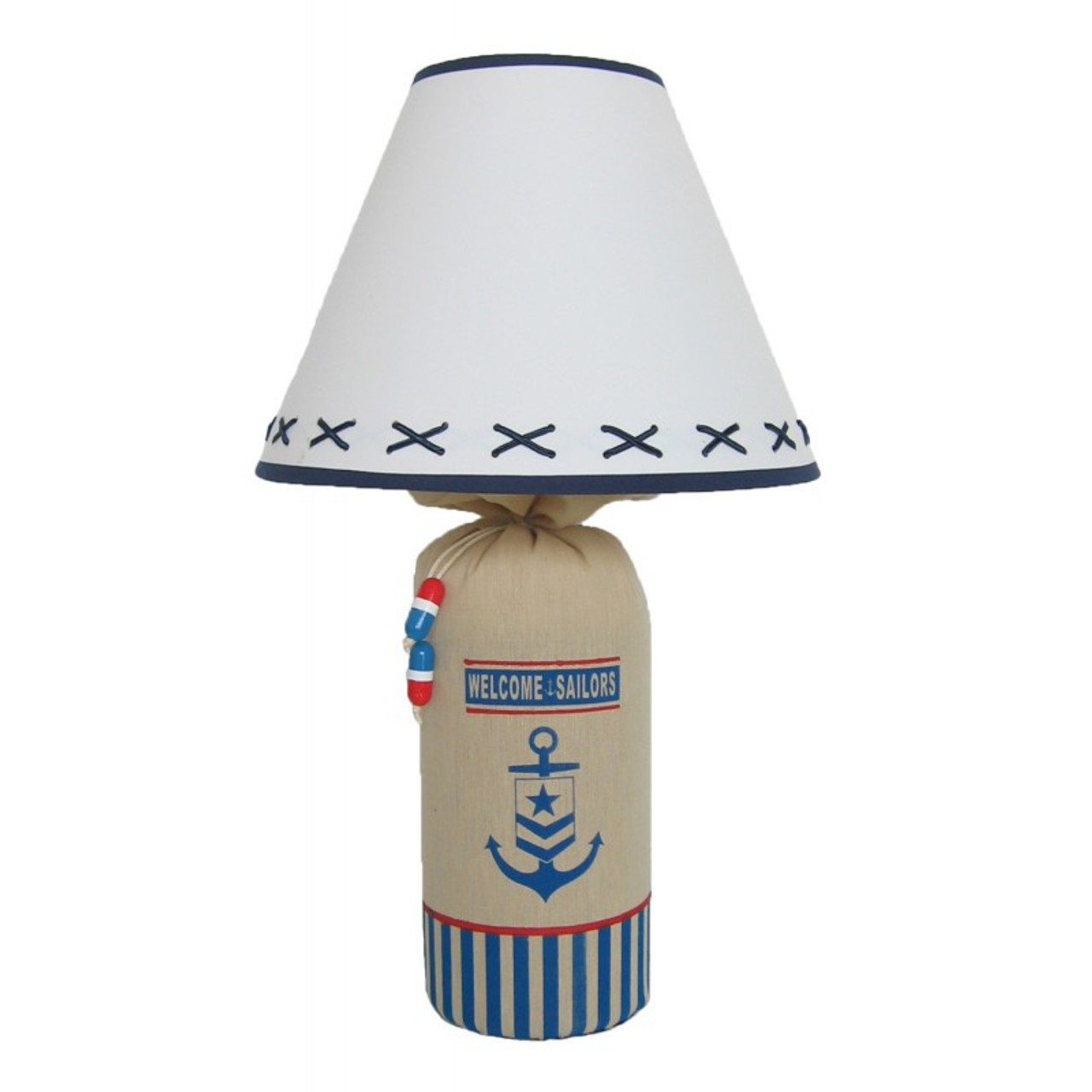"""Welcome Sailors"" Lamp 19"""
