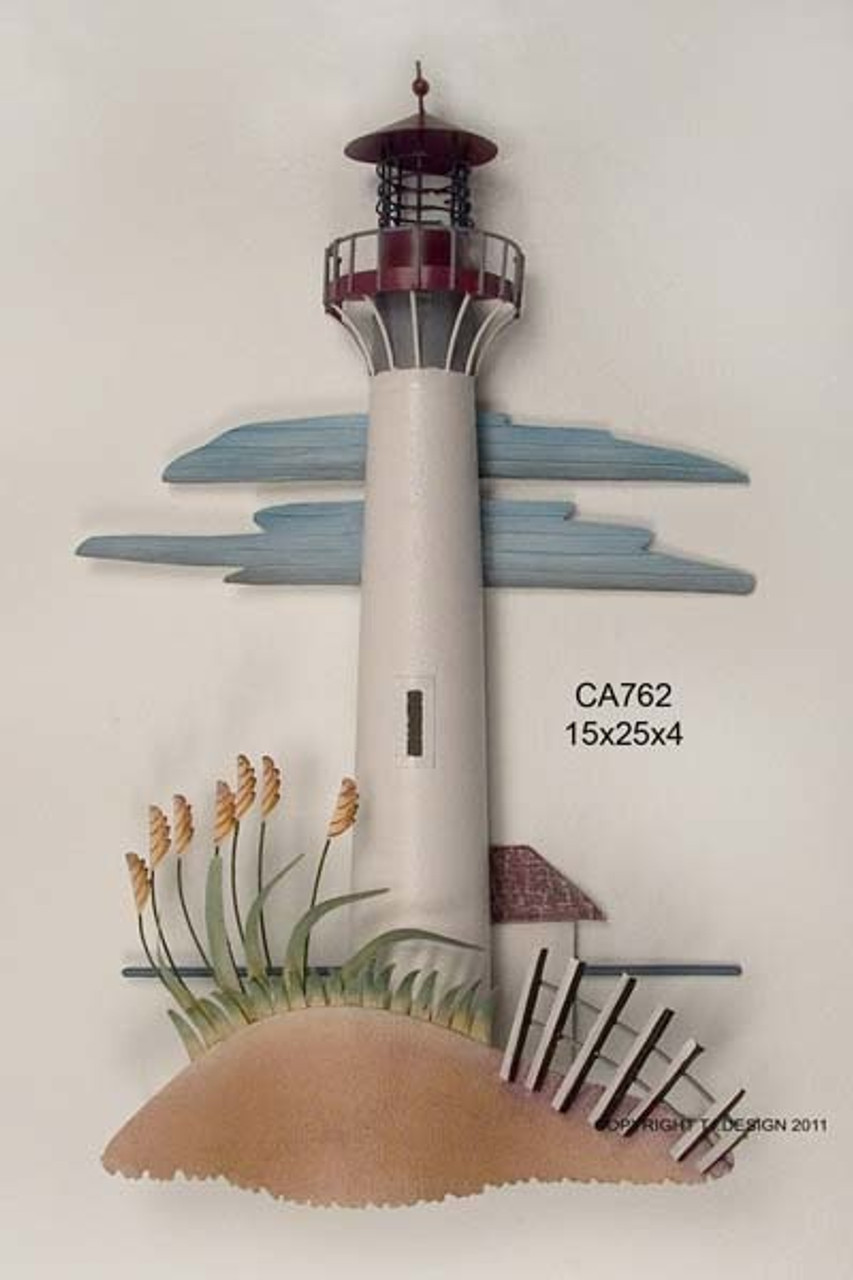 Cape May Lighthouse Nautical Wall Sculpture