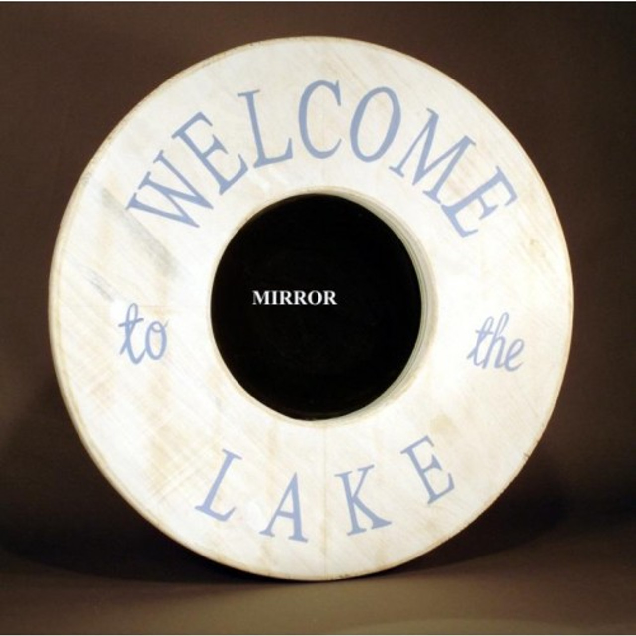 """Welcome to the Lake"" Mirror"