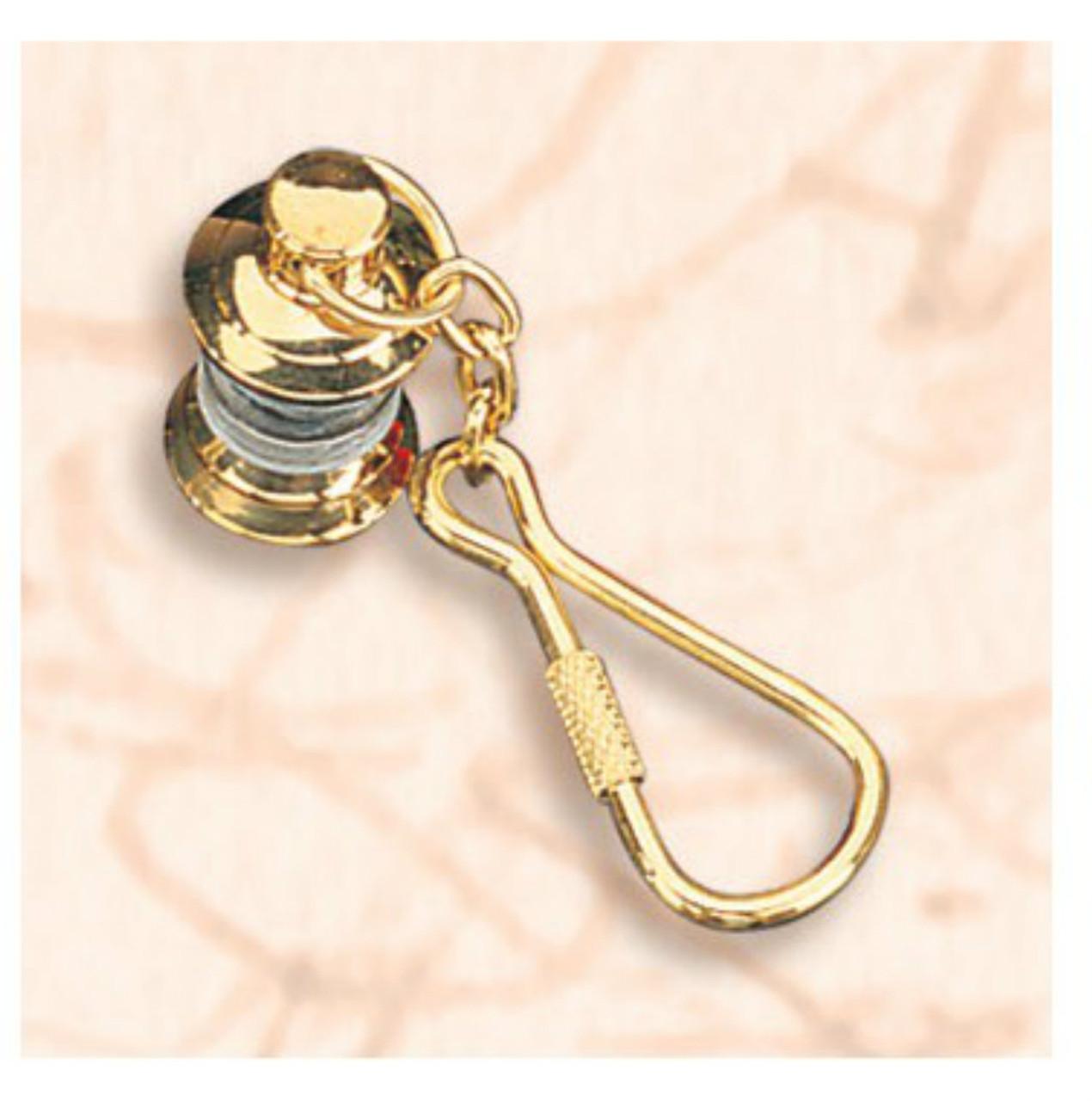 Brass Key Chain - Lantern