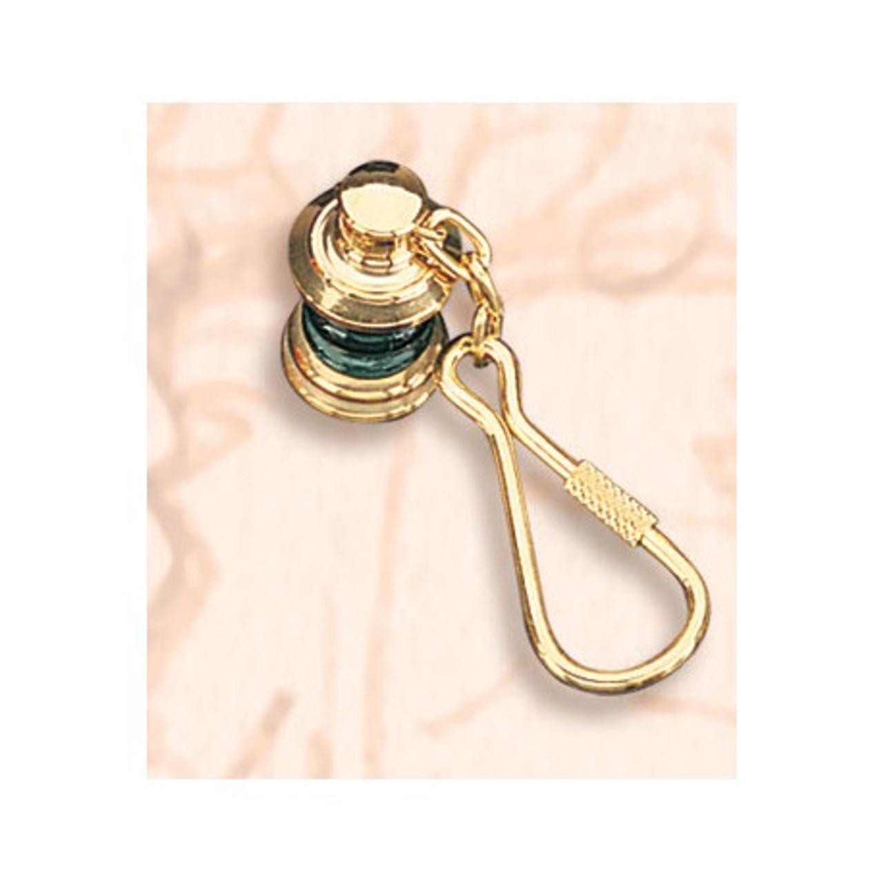Brass Key Chain - Starboard Lantern