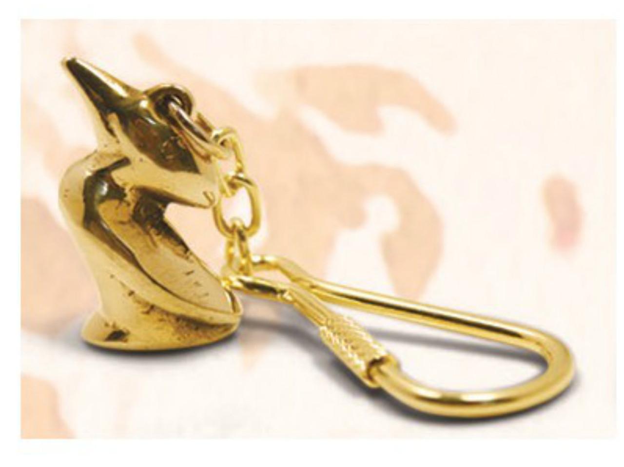 Brass Key Chain - Pelican