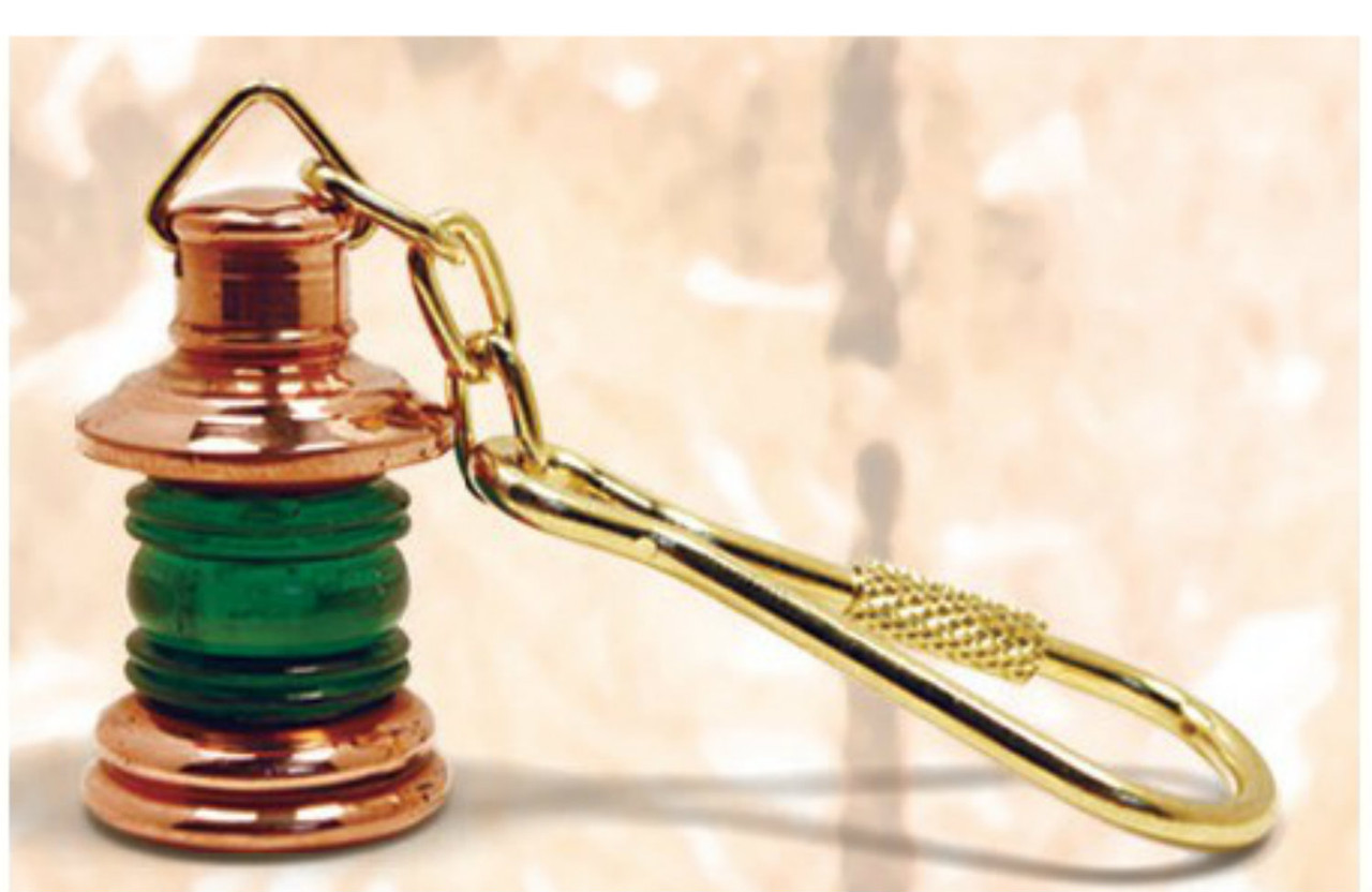 Copper Key Chain - Starboard Lantern