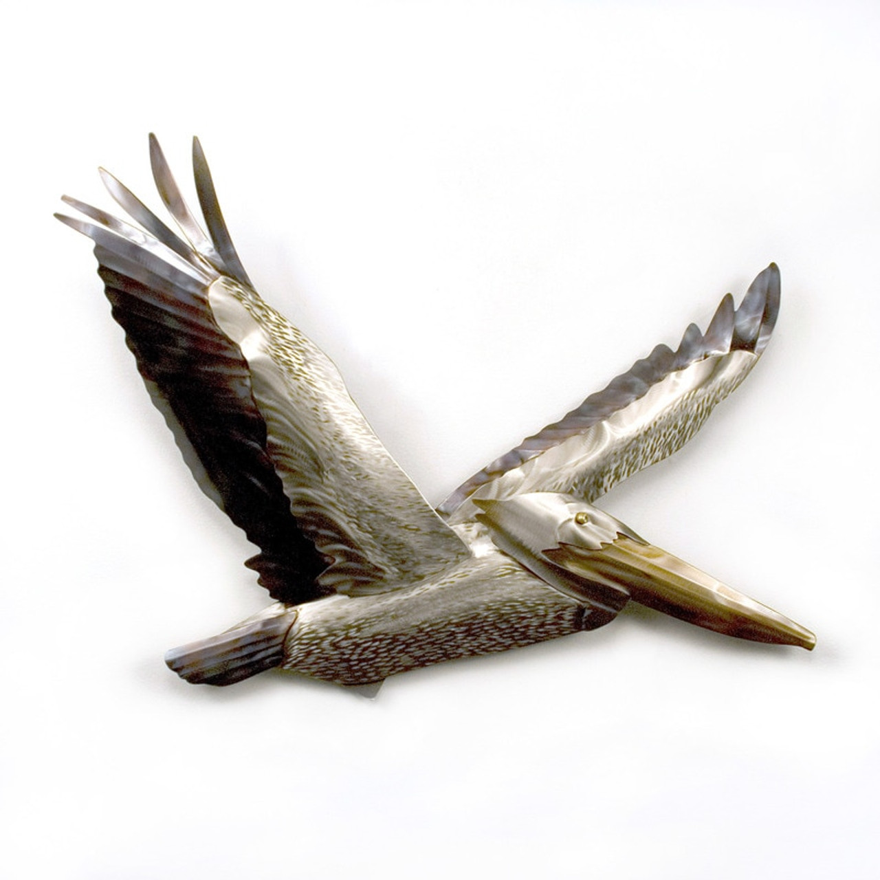 Pelican Flying -Stainless