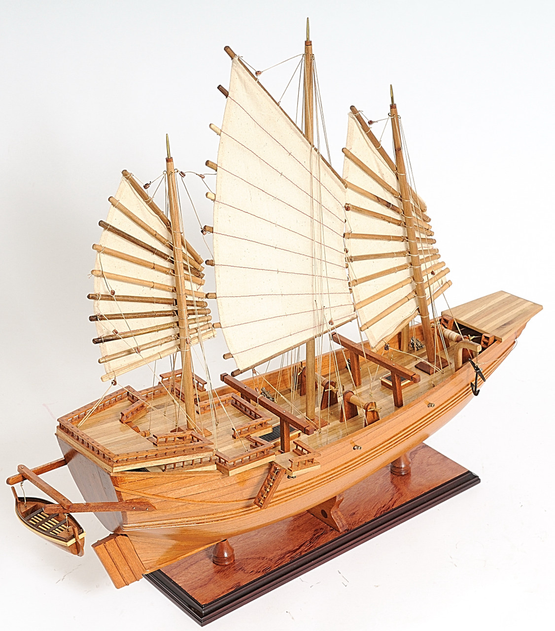 Chinese Junk Model with Optional Personalized Plaque