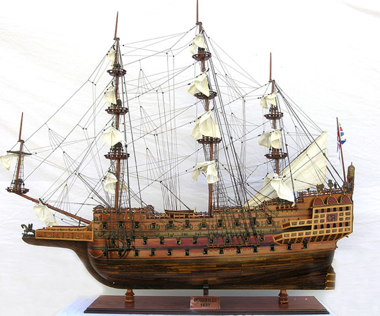 """Sovereign of the Seas Model Ship - 53"""" Extra Large Limited Edition - Optional Personalized Plaque"""