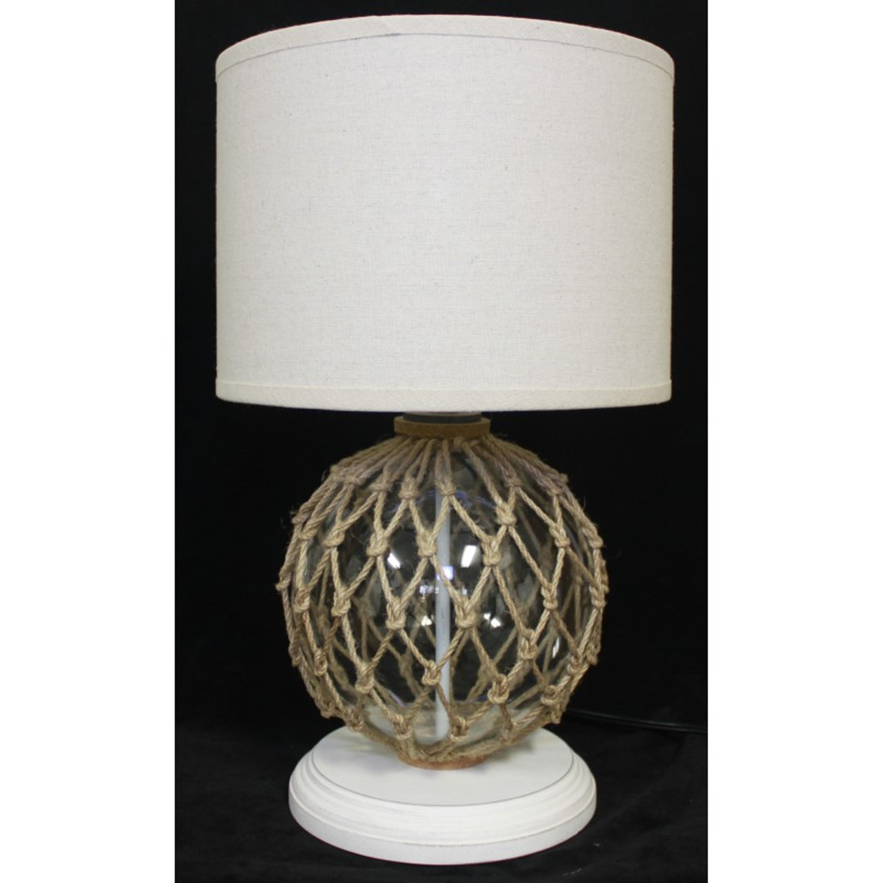 """Clear Glass Float Lamp - 18"""""""
