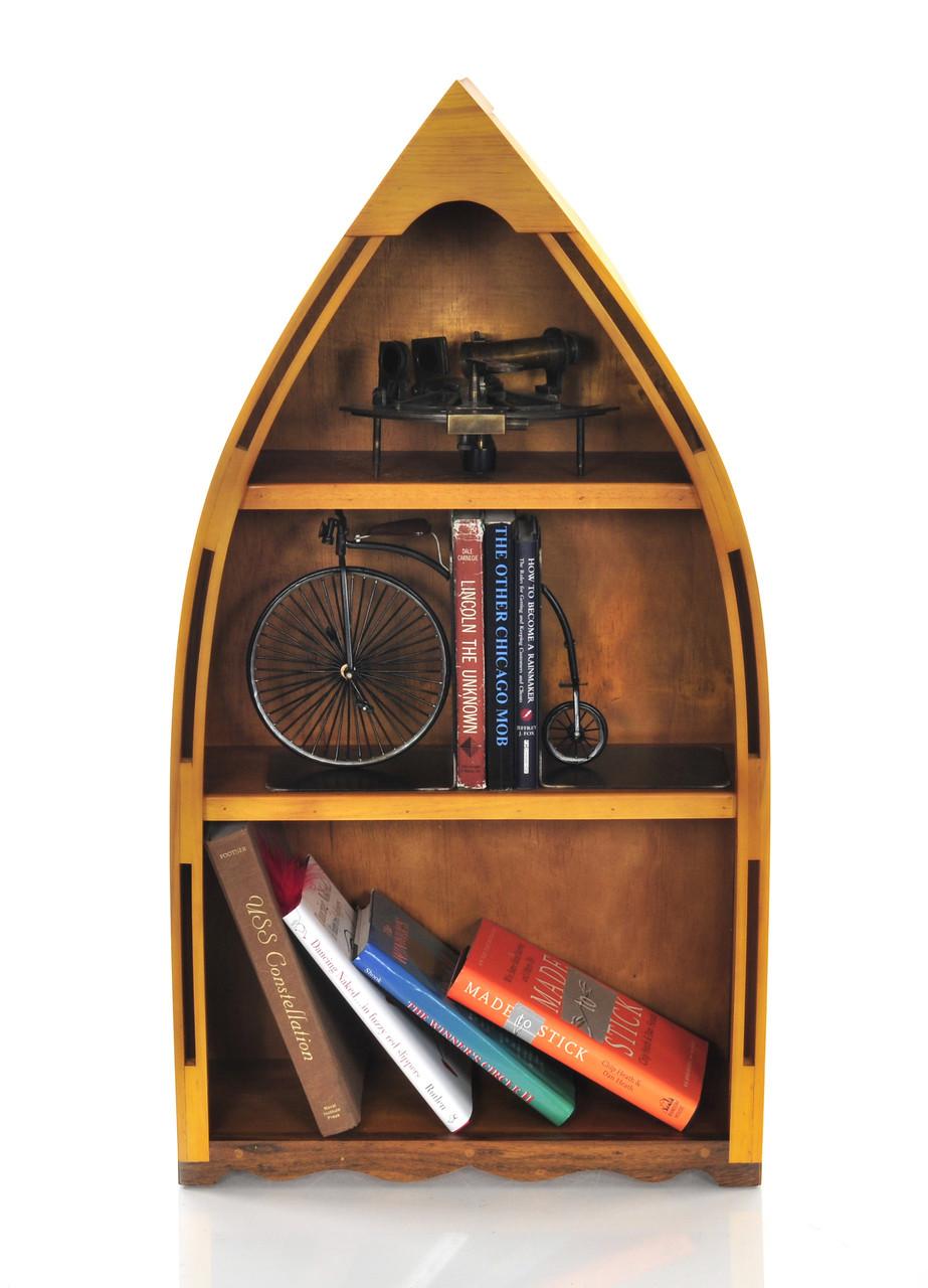 Canoe Book Shelf -  Small