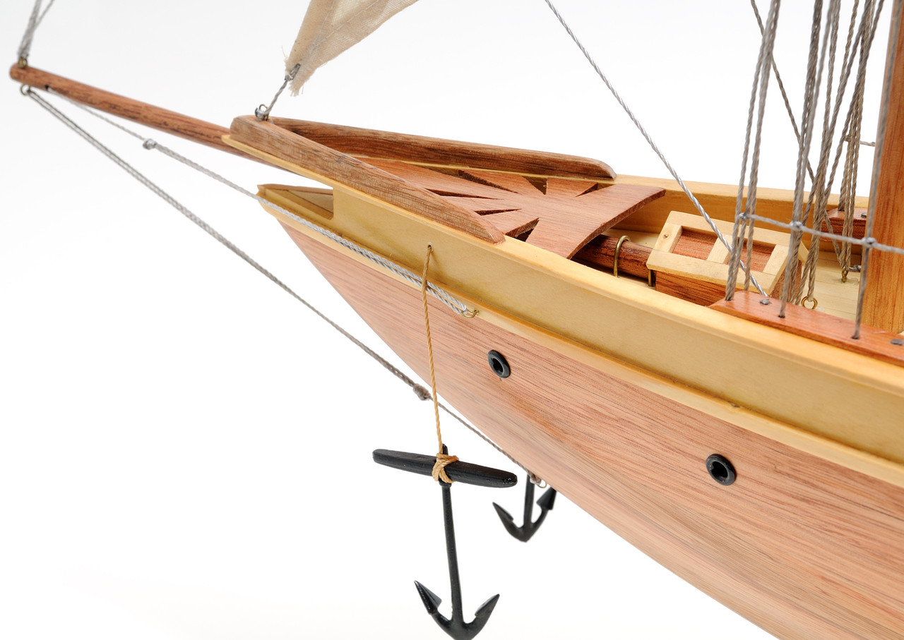 Atlantic Yacht  with Optional Personalized Plaque