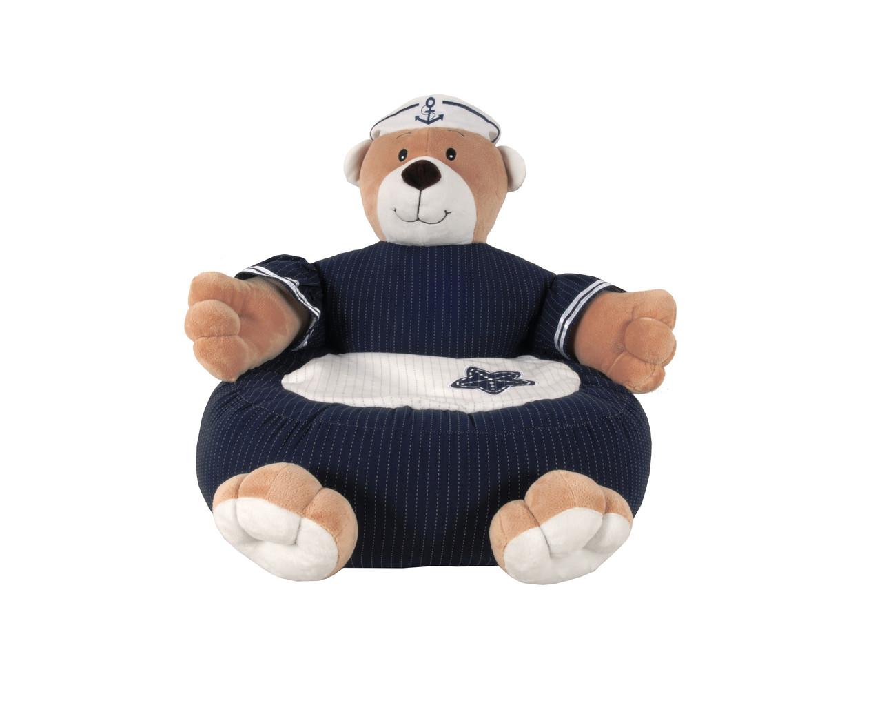 Navy Bear Chair