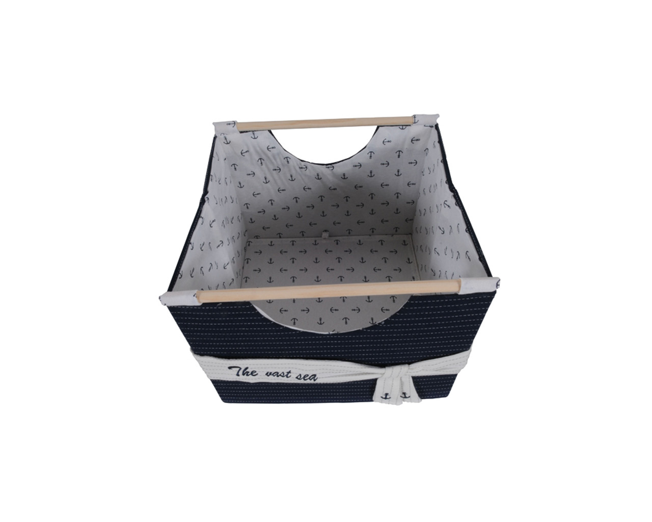 Foldable Fabric Baskets - Set of 3