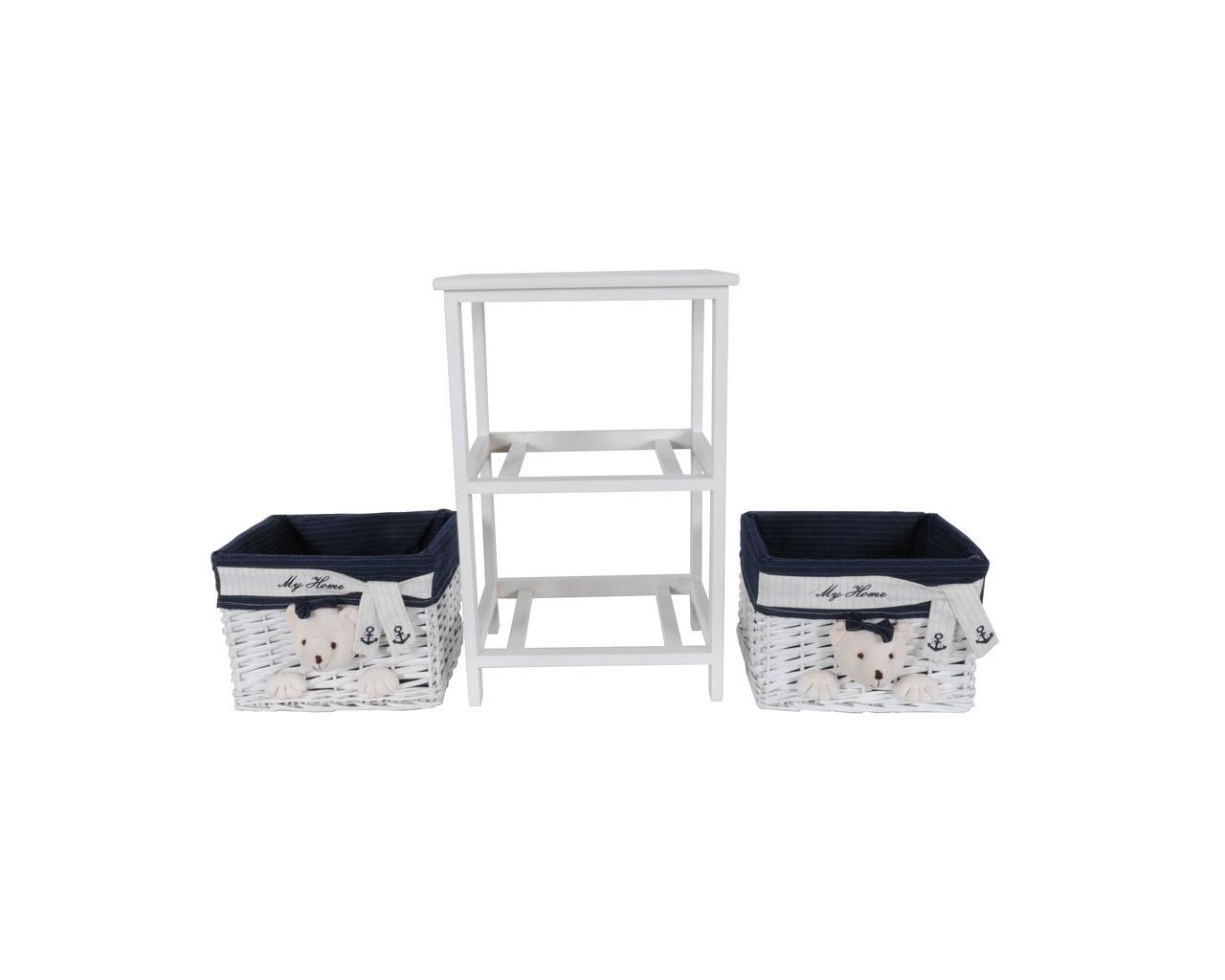 Portable 2-Drawer Set