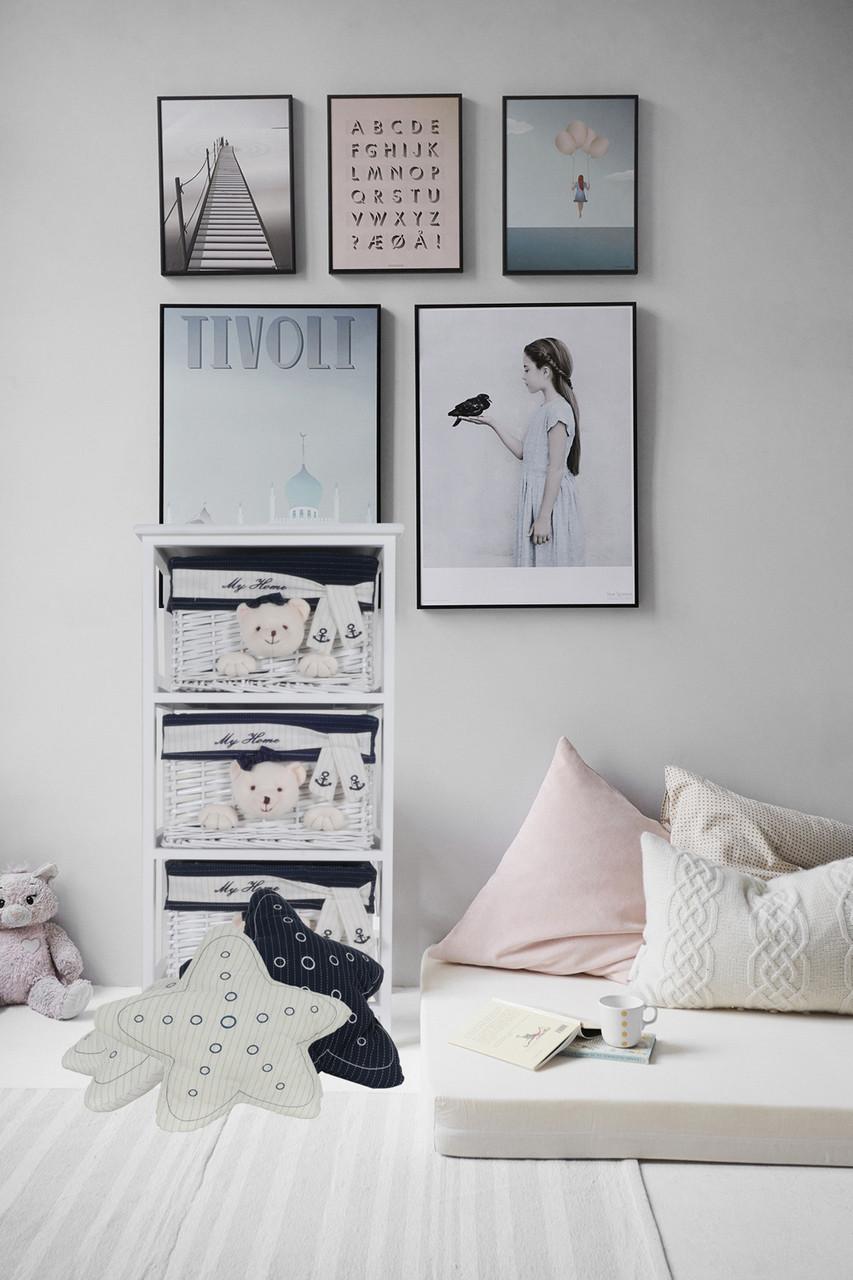 White Star Pillows - Set of 2