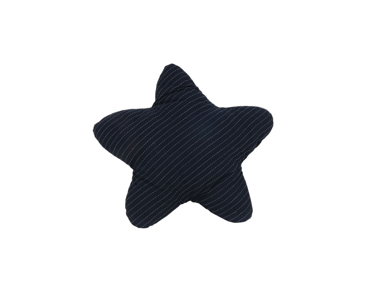 Set of 1 Blue Star and 1 White Star Pillows