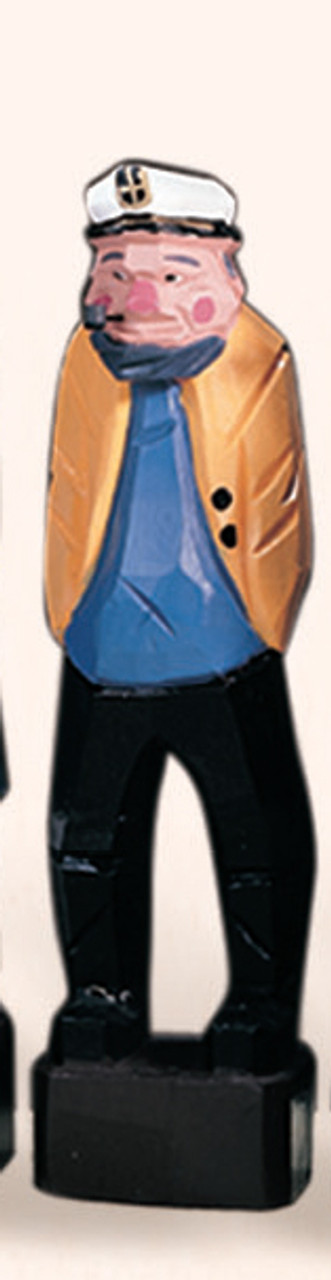"""Colorful Carved Seven Seas Characters - 18"""""""