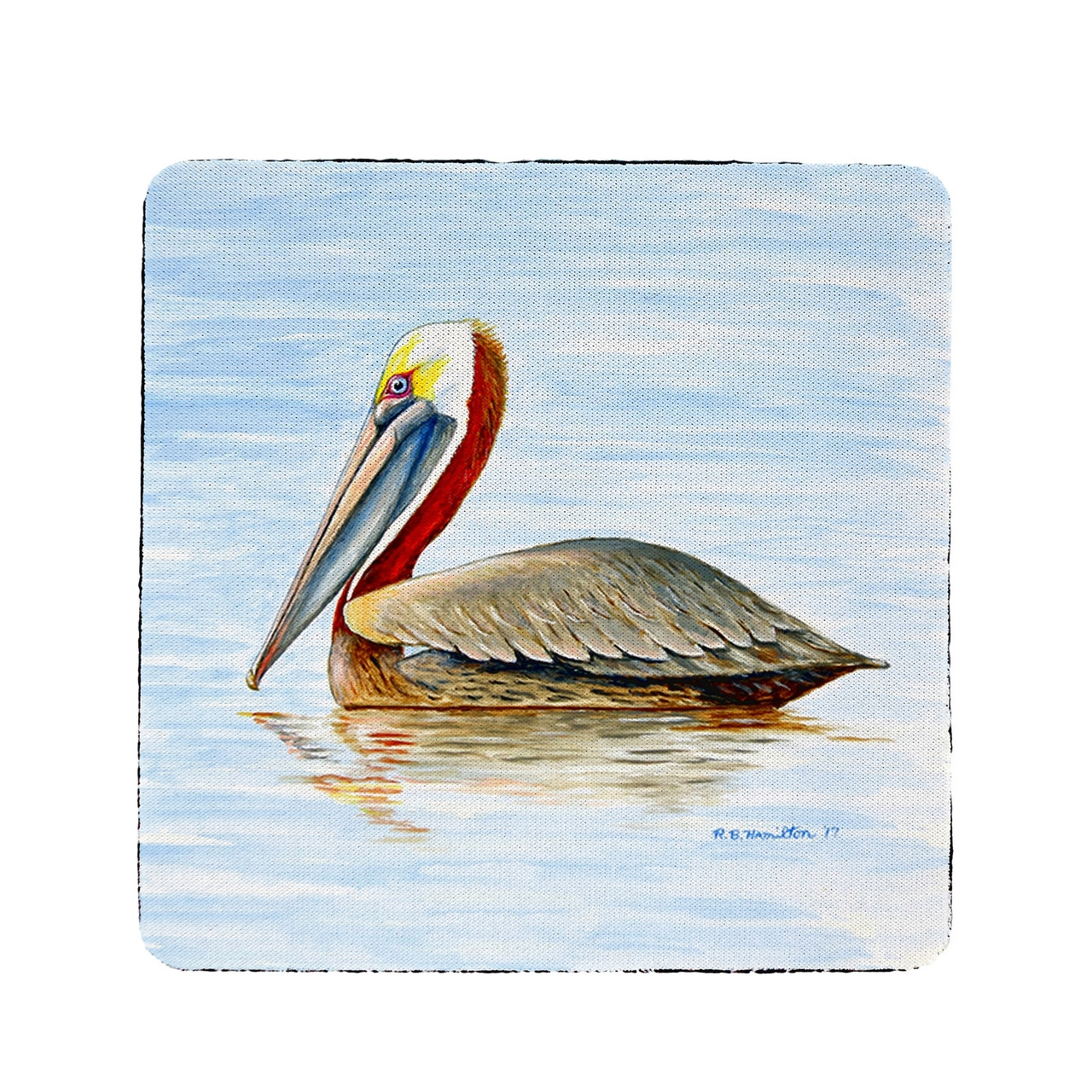 Summer Pelican Coasters - Set of 4