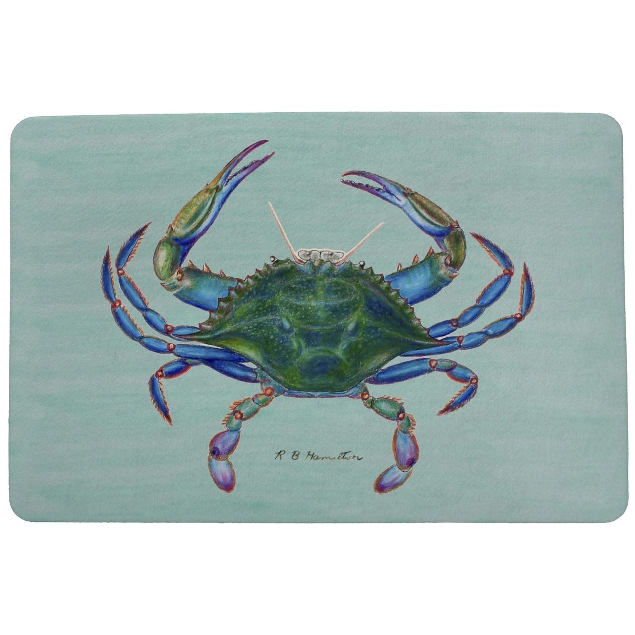 Female Blue Crab Door Mat