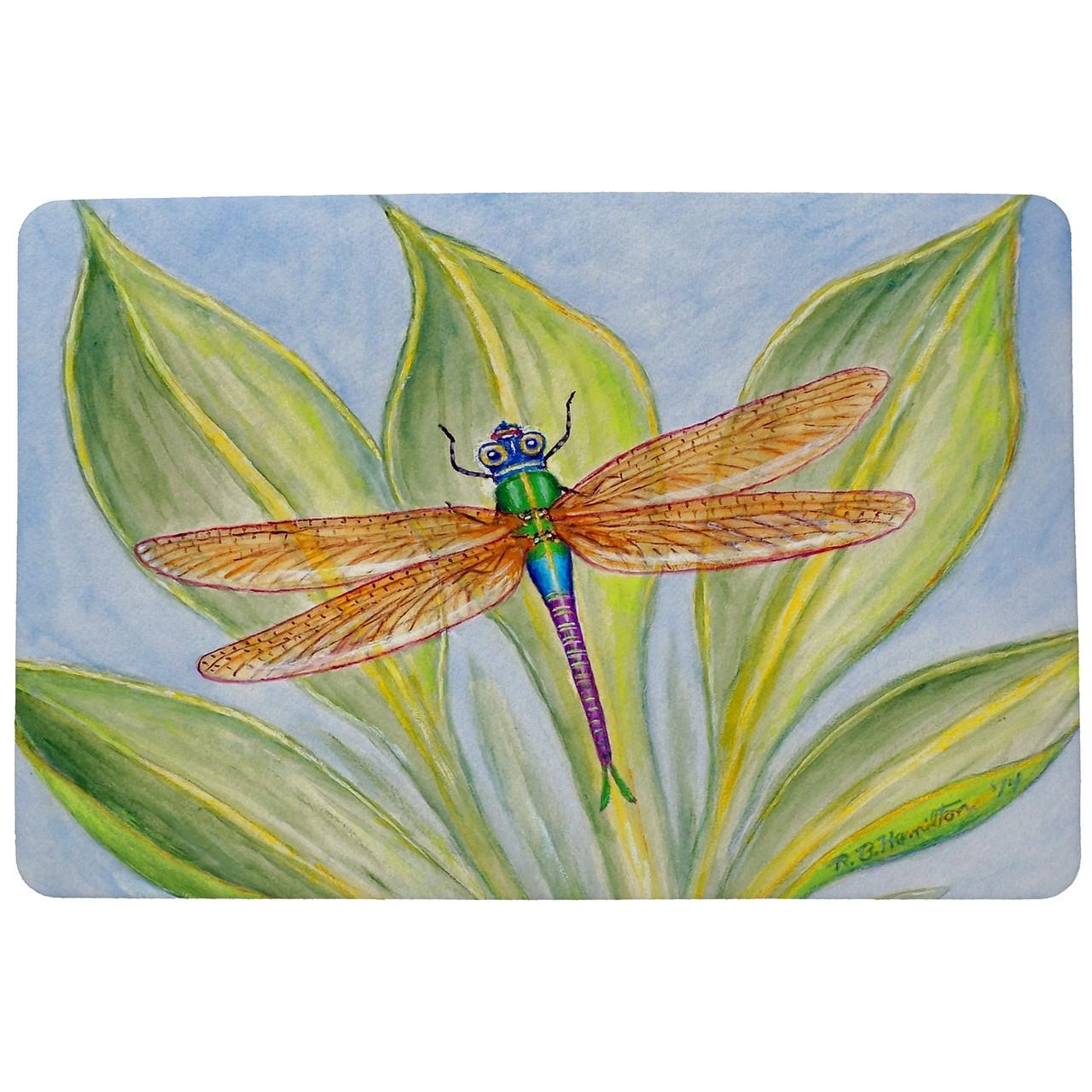 Dick's Dragonfly Door Mat