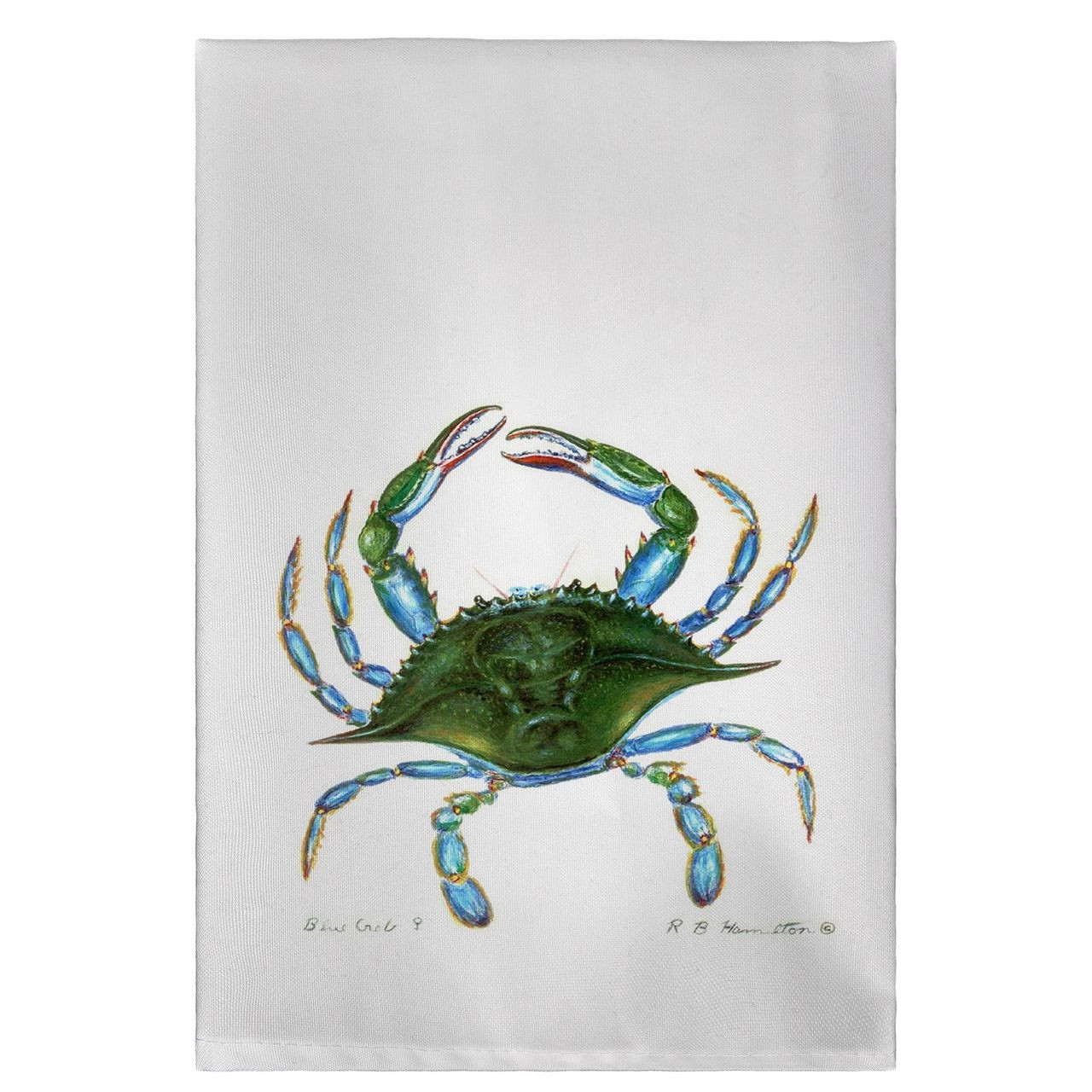 Blue Crab Guest Towels - Set of 4