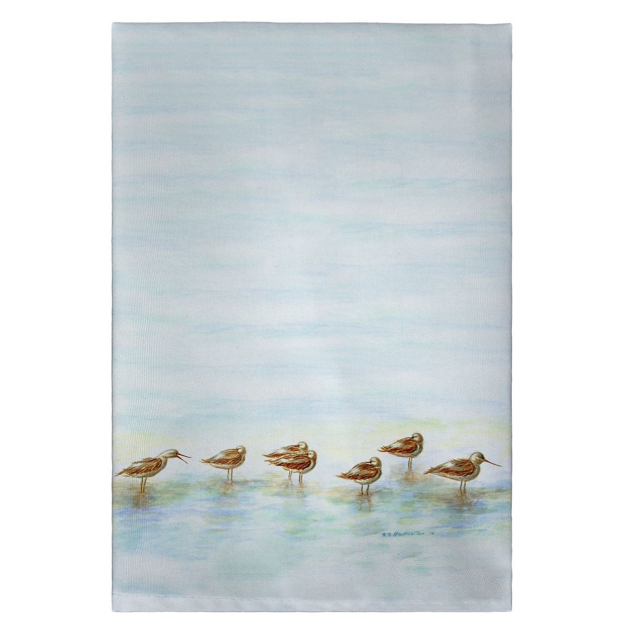 Avocets Guest Towels - Set of 4