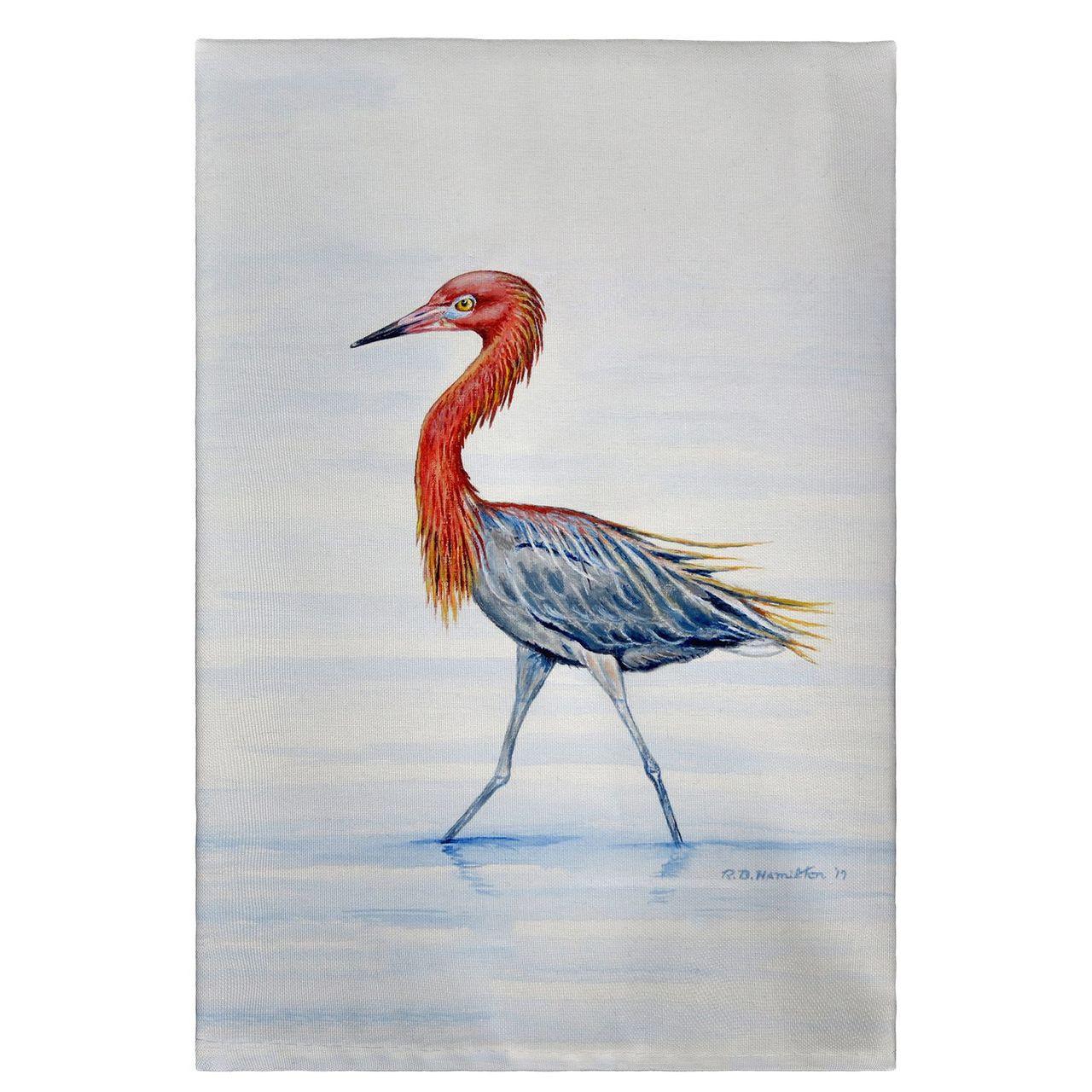 Reddish Egret Guest Towels - Set of 4