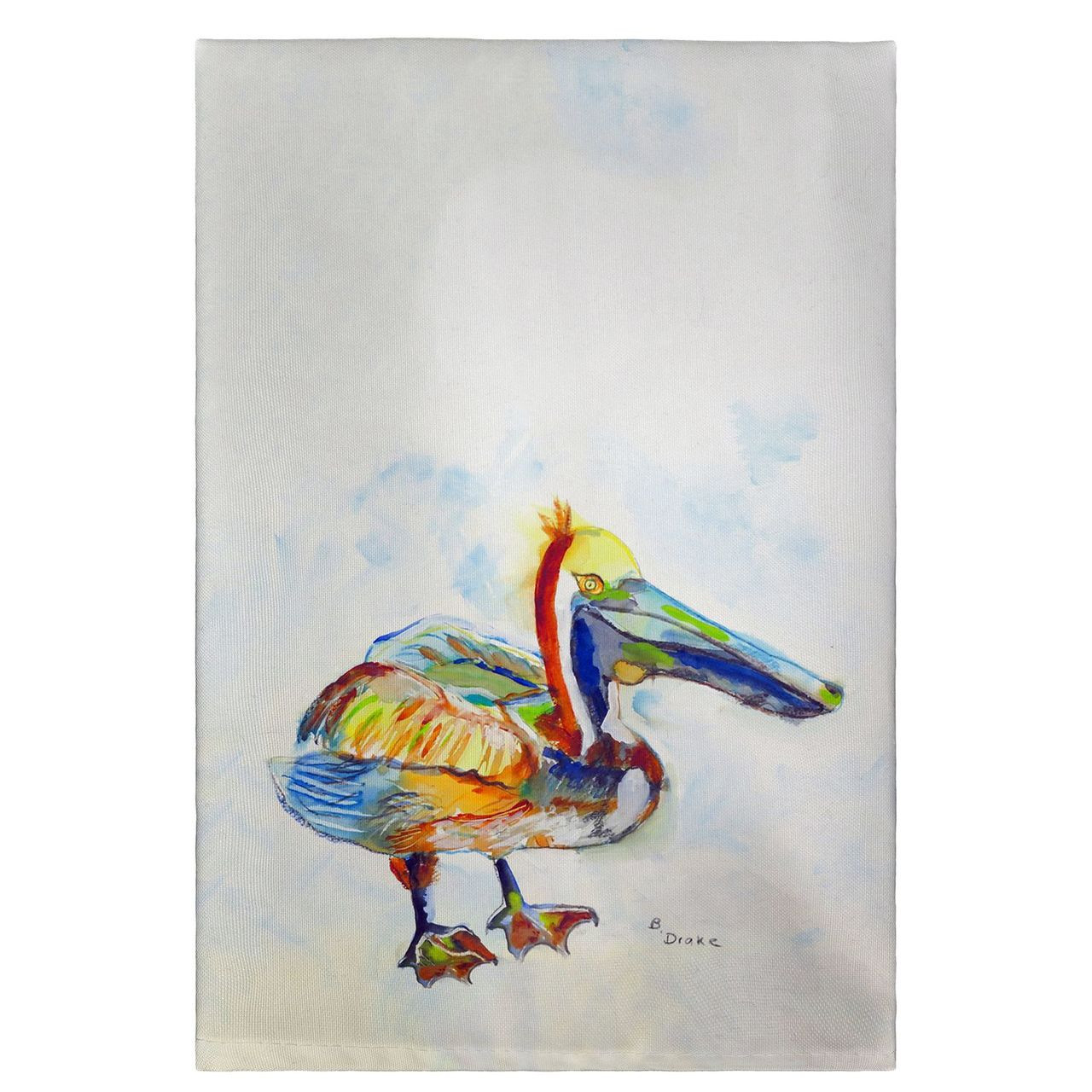 Heathcliff Pelican Guest Towels - Set of 4