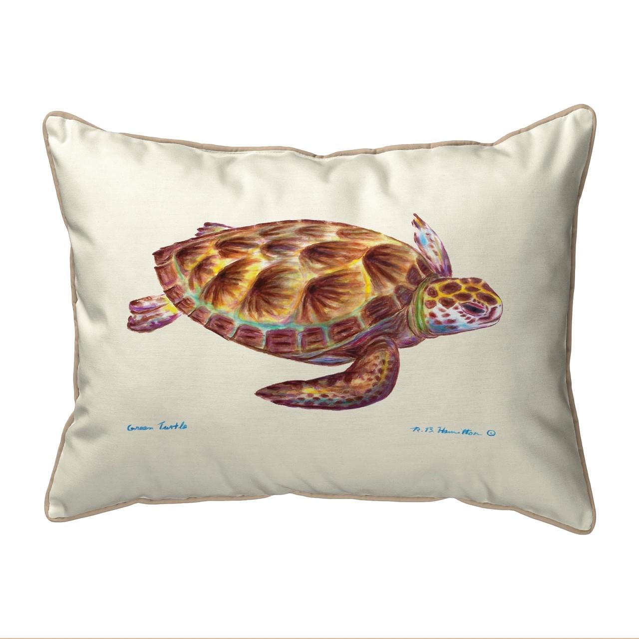 Green Sea Turtle Pillows