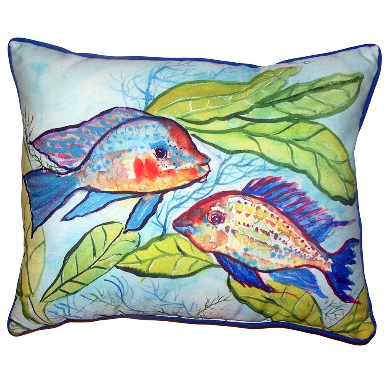 Pair of Fish Pillows