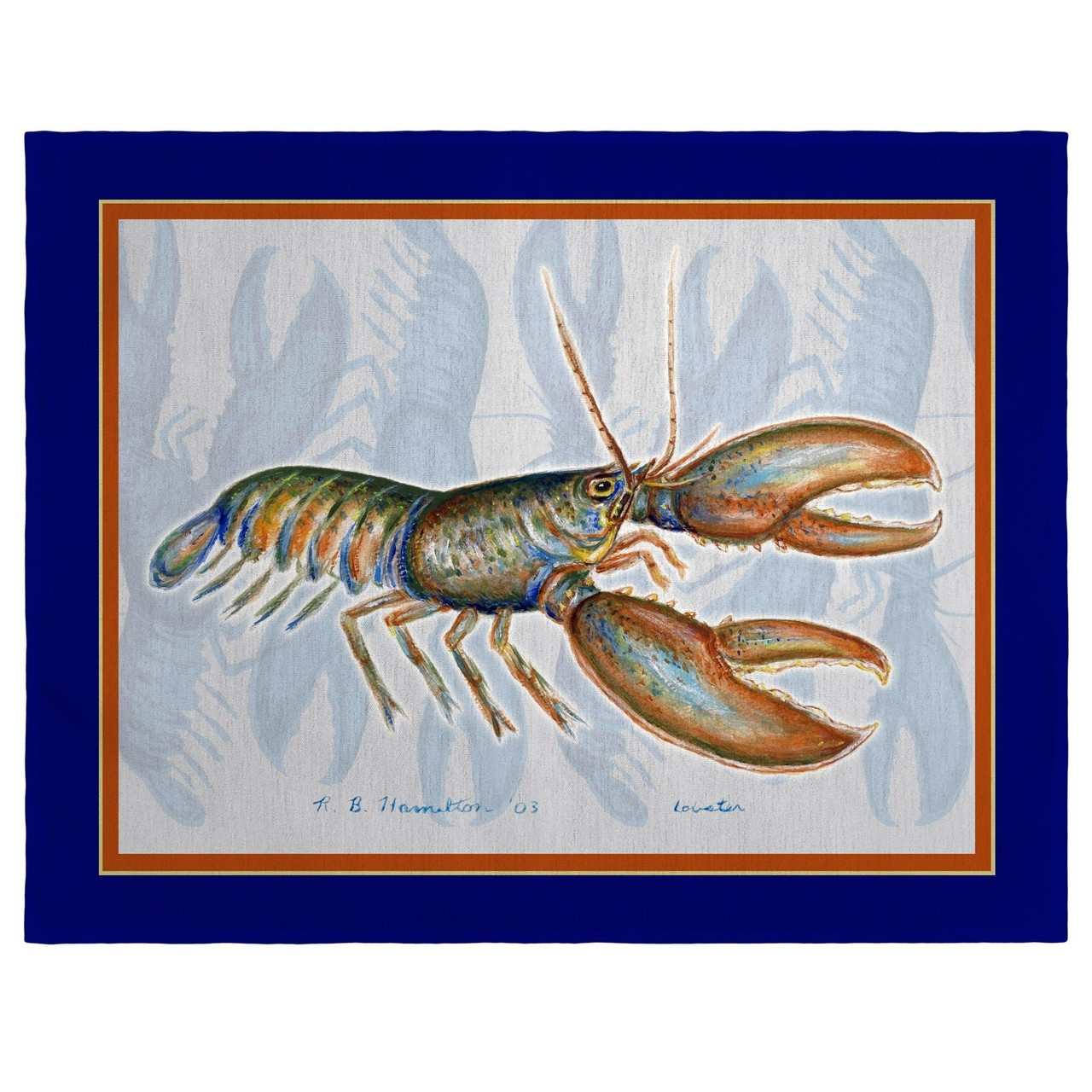 Lobster Place Mats - Set of 2