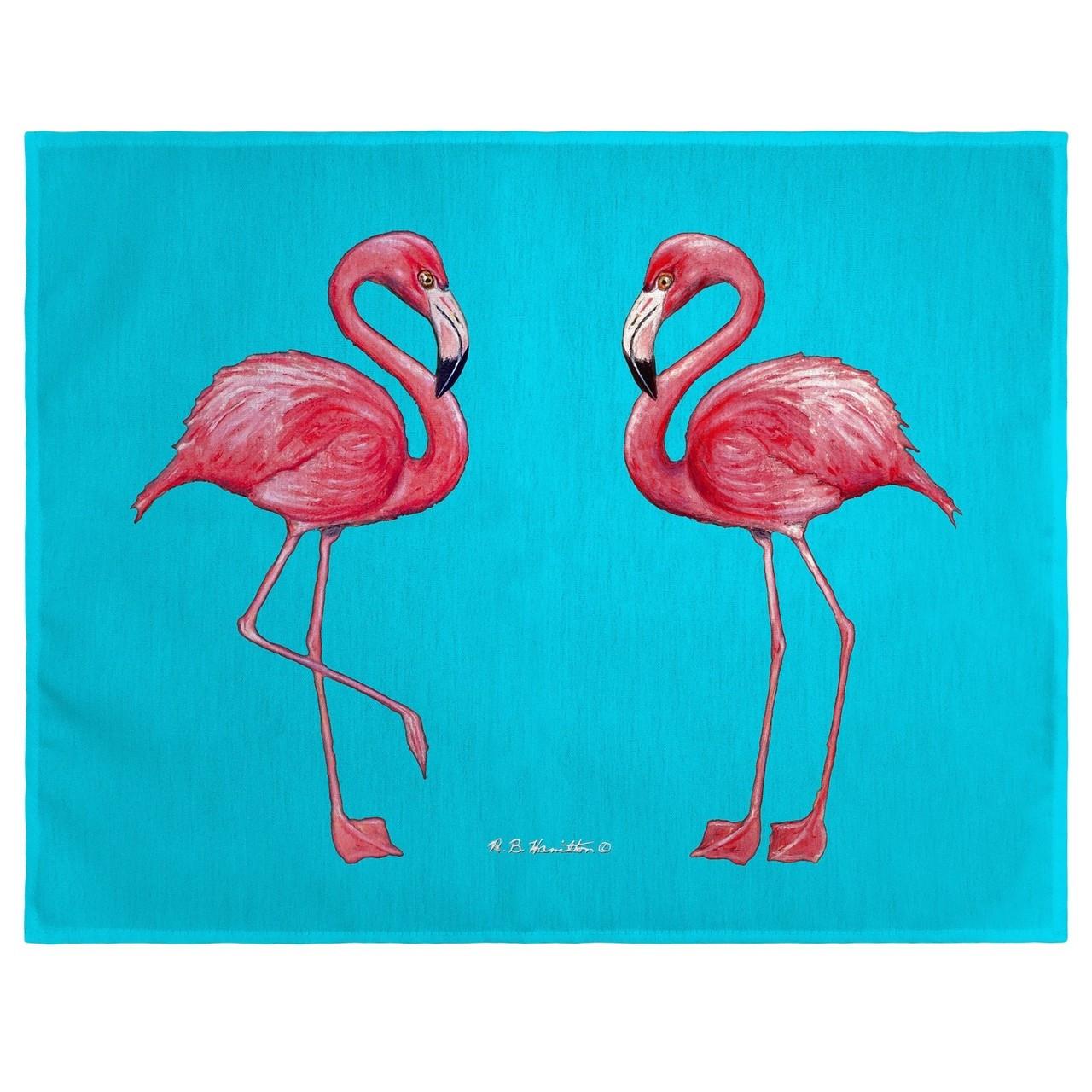 Pink Flamingo Place Mats - Set of 2