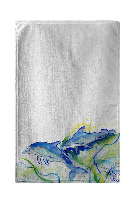 Betsy's Dolphins Beach Towel