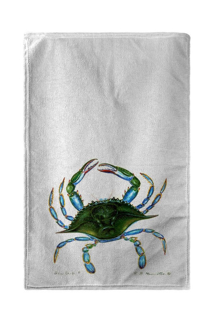 Female Blue Crab -  Beach Towel
