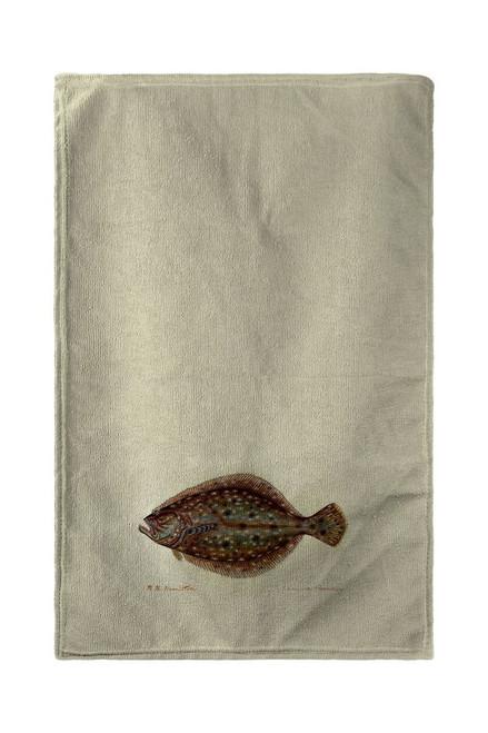 Flounder Beach Towel