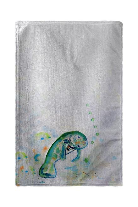 Betsy's Manatee Beach Towel
