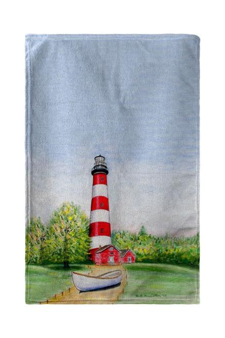 Chincoteague Lighthouse, VA Beach Towel